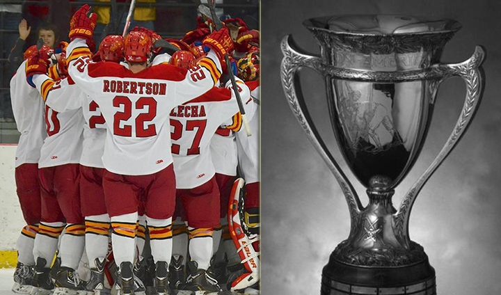 WCHA's MacNaughton Cup Goes To Ferris State As Regular-Season Champs