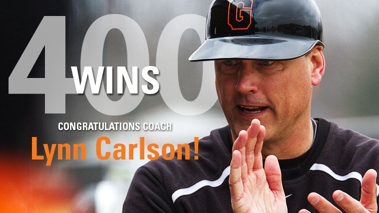 Carlson Notches 400th Coaching Win