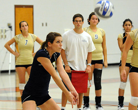Bison volleyball gets swept at Salisbury University Invitational