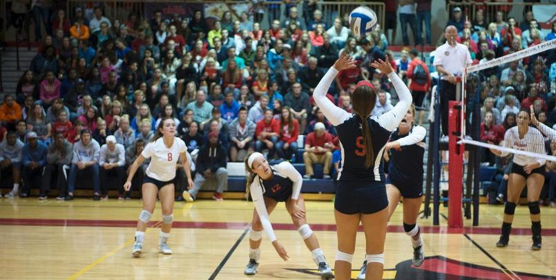 Cardinals Sweep First Day of Ferris State Volleyball Invitational