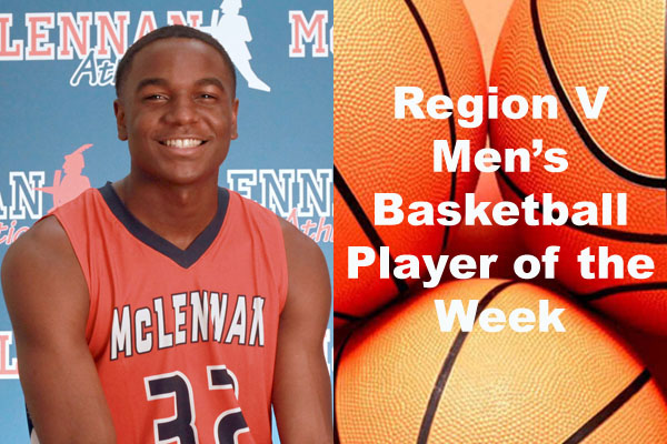 Region V Men's Basketball Players of the Week (Dec. 3-9)