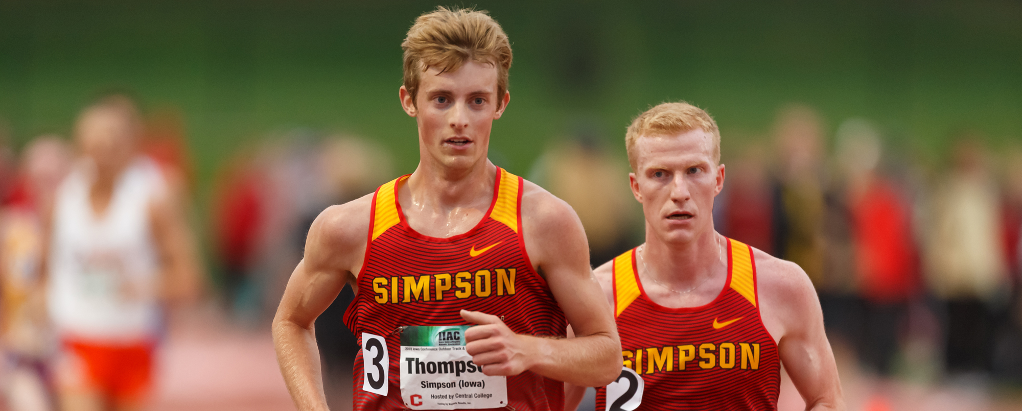 Trey Thompson (3) and Ian McKenzie (2)