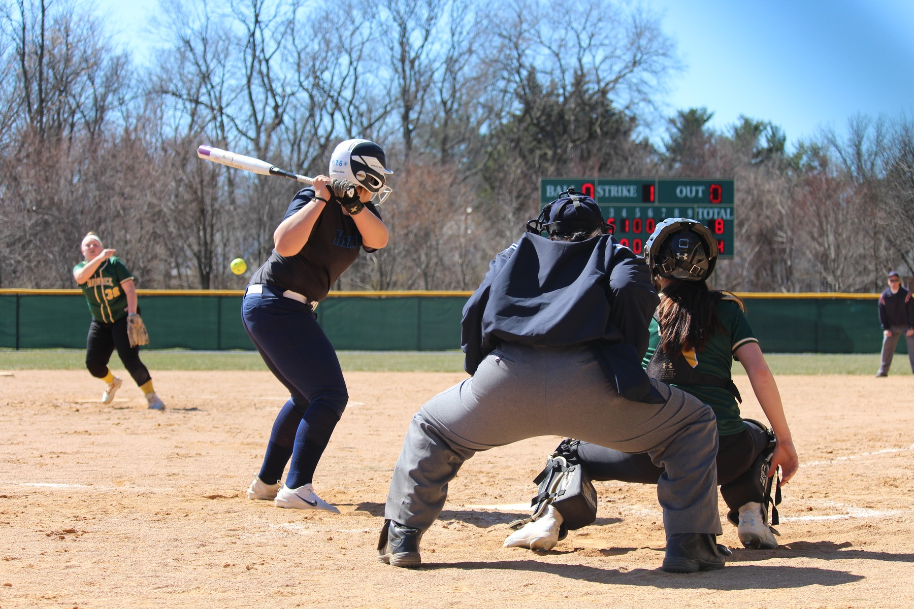 Softball Drops Pair in Conference Opener at Cecil