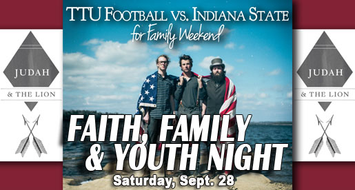 Tech to host Faith, Family and Youth Night at Sept. 28 game vs. Indiana State