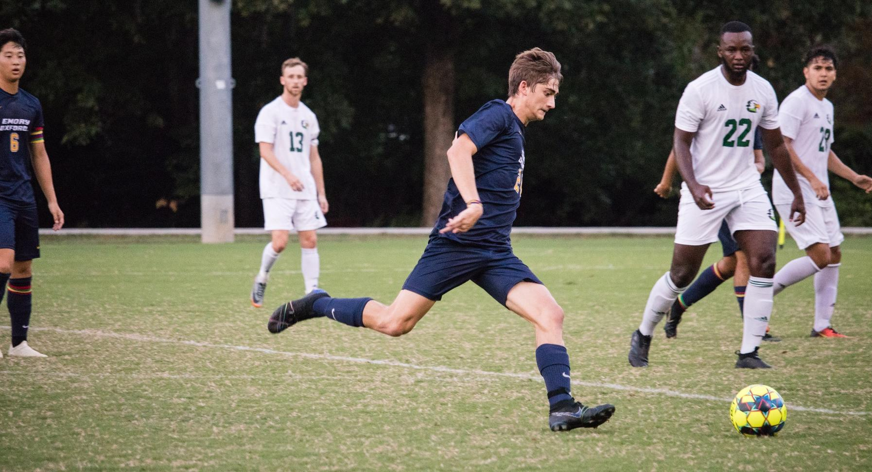Men's Soccer Suffers First Lost of The Season