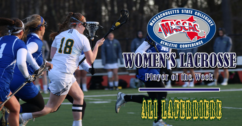 Laferriere Tabbed MASCAC Women's Lacrosse Player Of The Week