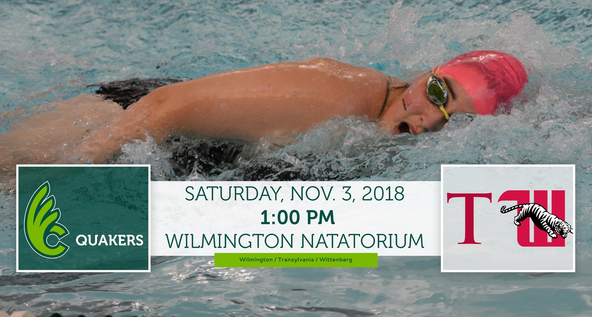 Women's Swimming Hosts Double Dual Saturday
