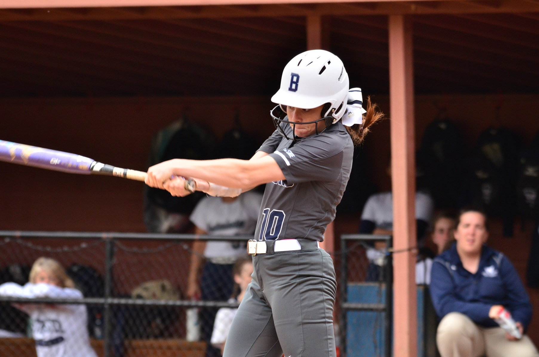 Lions Split with Carnegie Mellon; Hauser Hits Three-Run Homer