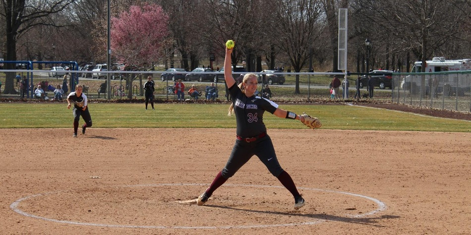 Softball Splits with Post in CACC Opener, First-Ever Game at New Home Field