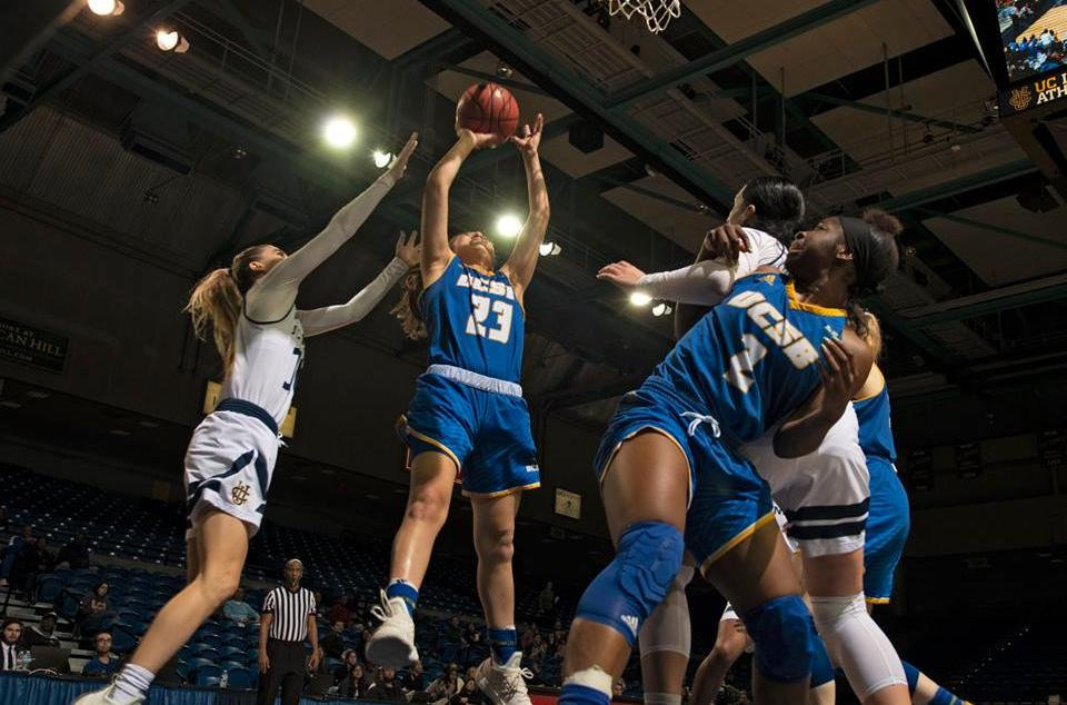 Gauchos Battle Back, Ultimately Fall at No. 5 UCI 53-46 in Big West First Round