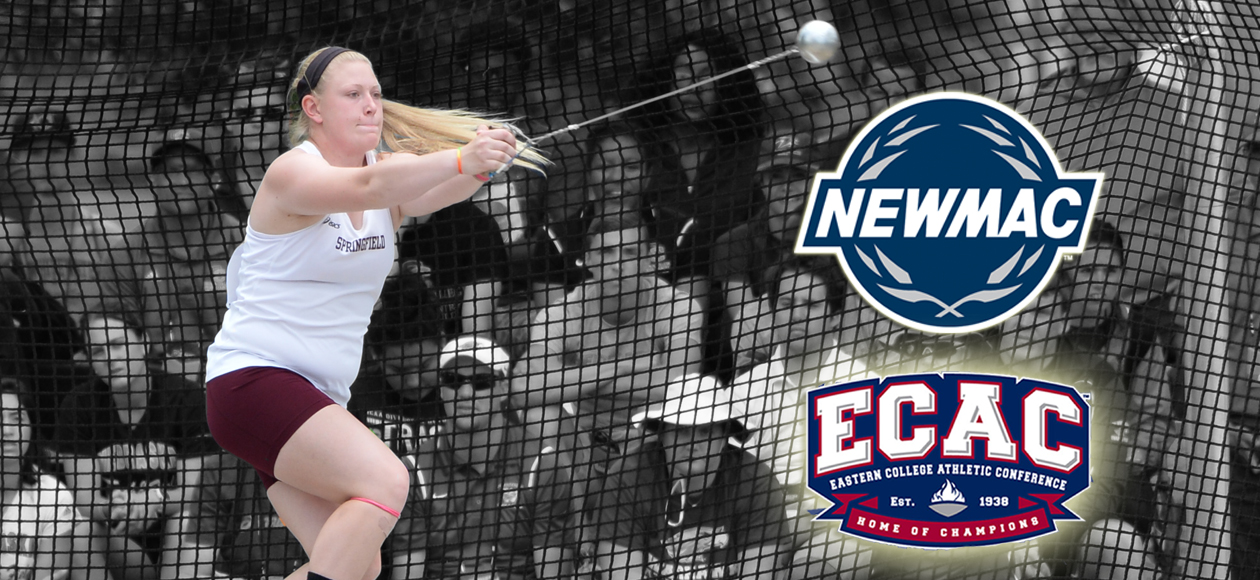 Markos Recognized as NEWMAC and ECAC Women's Field Athlete of the Week