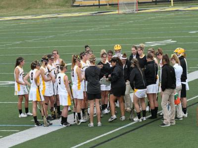 Johnston's Five Goals Leads to 16-12 Win at Lynchburg