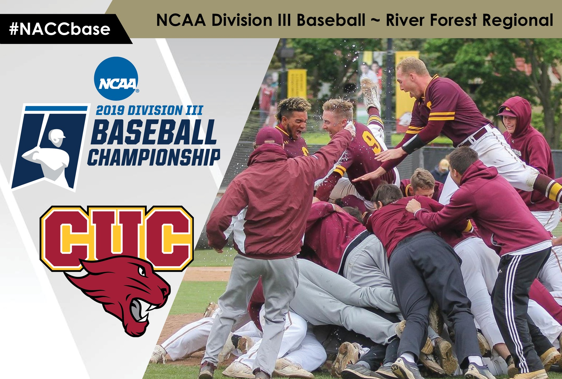 Concordia Chicago defeated Baldwin Wallace, 5-3, to win the River Forest Regional of the NCAA Division III Baseball Championship.