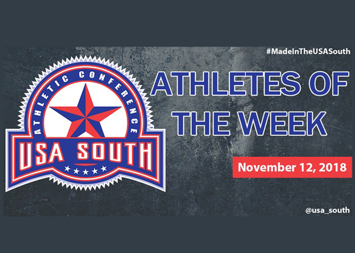 Thomas picks up second USA South Athlete of the Week honor