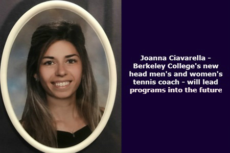 Joanna Ciavarella Appointed Berkeley College's Head Men's and Women's Tennis Coach