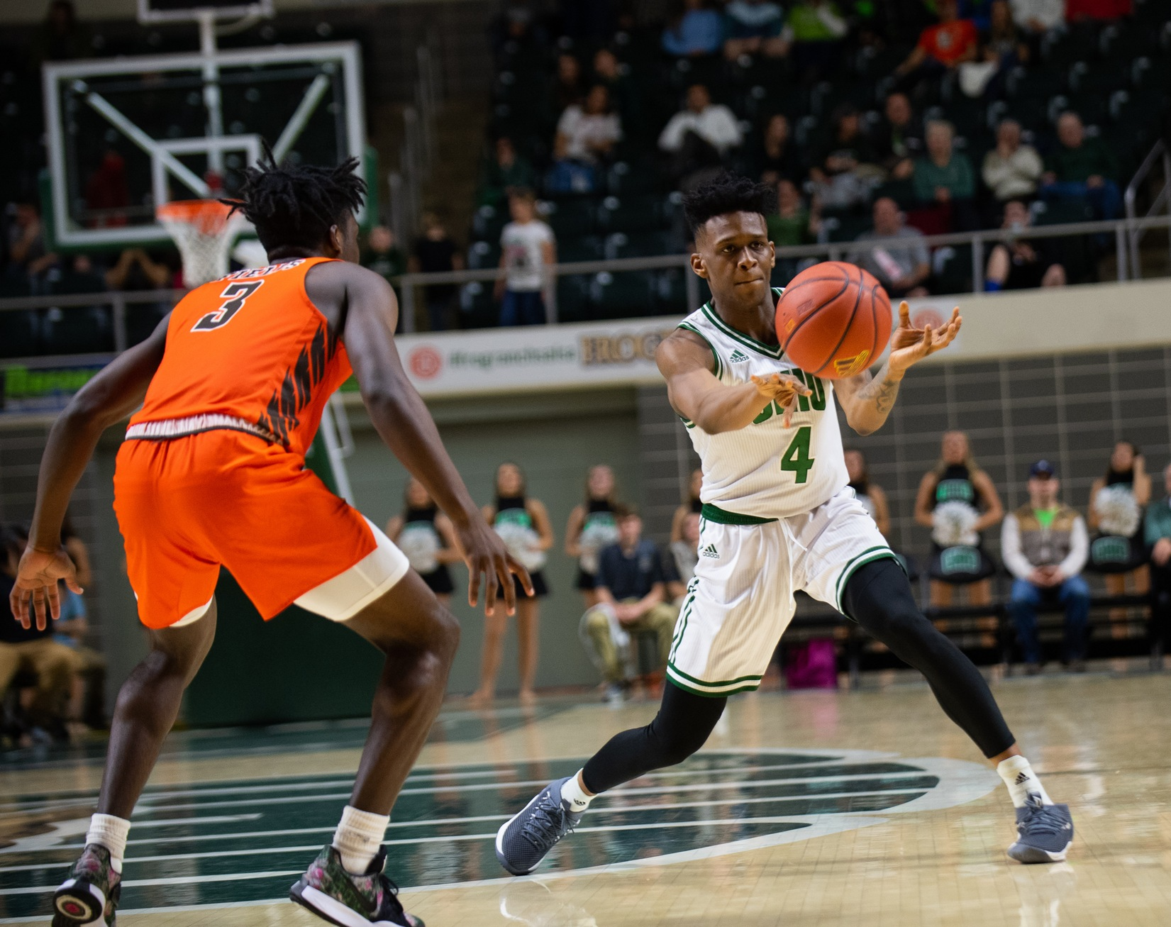 Ohio Men's Basketball Snaps Skid, Downs Bowling Green in Overtime