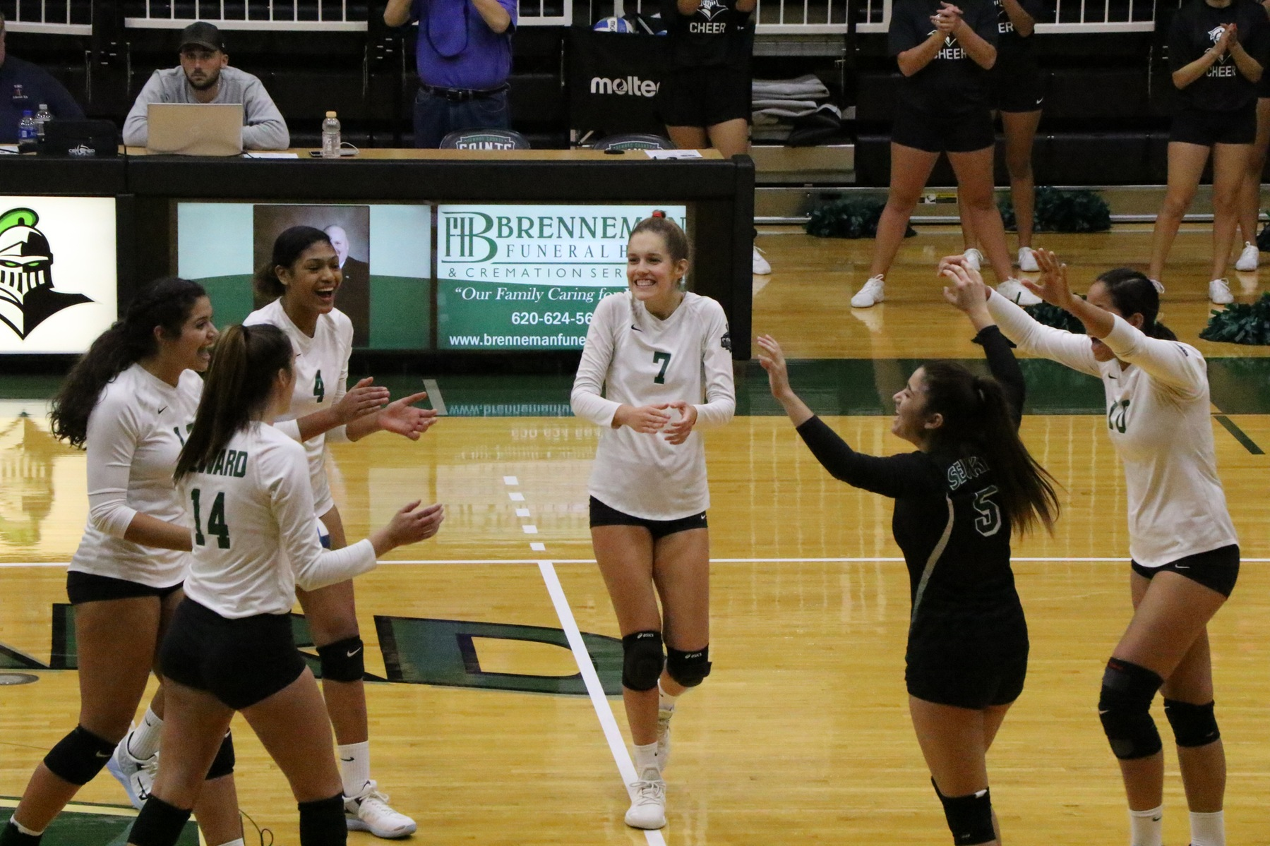 Lady Saints sweep Independence, remain unblemished in conference play