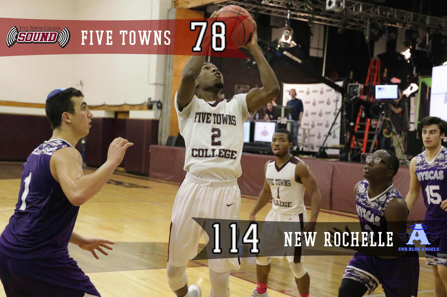 Men's Basketball Falls to College of New Rochelle