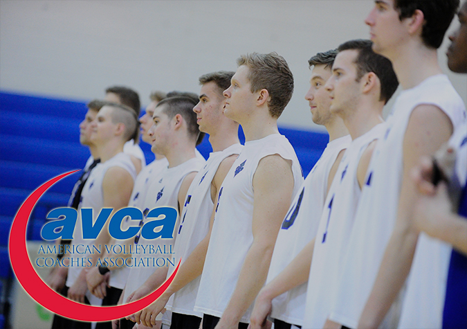 Men's volleyball moves back to No. 12 in latest AVCA Top 15