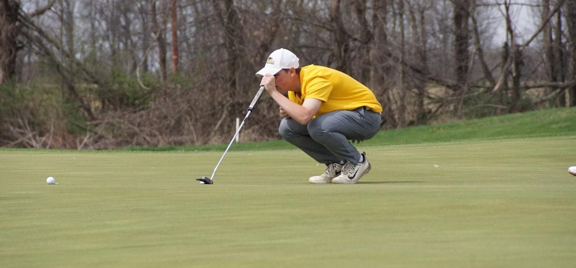 Men's Golf Sits Sixth After Day One of the G-MAC Championship