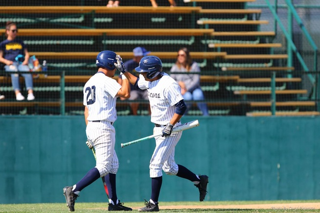 The Falcons fell to LA Harbor, 6-5 in 10 innings