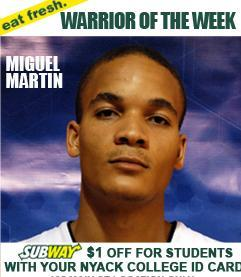 Warrior of the Week 12.11.12