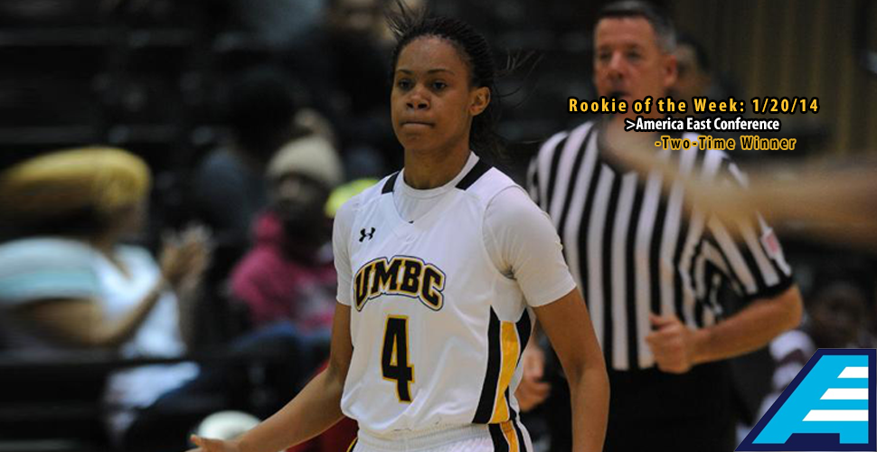 McCarley Earns Second Straight America East Rookie of the Week Honor