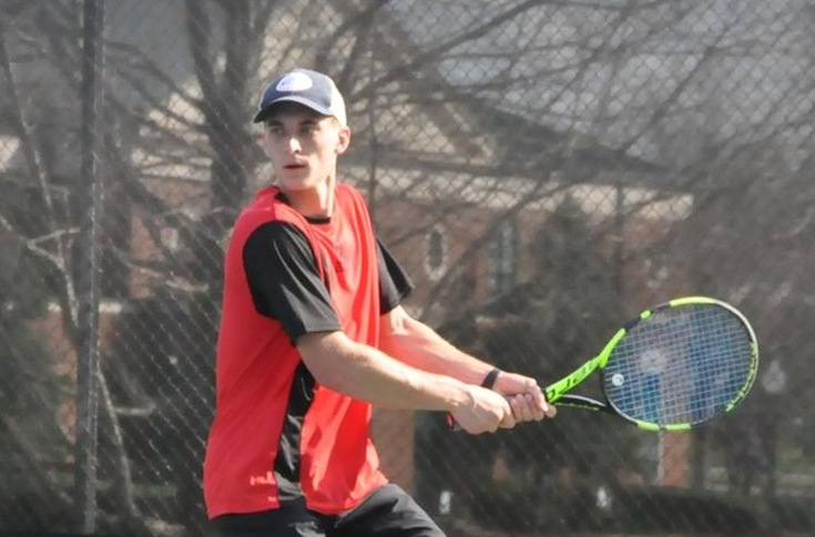 Men's Tennis: Pre-season division favorite Covenant tops Panthers 7-2 in first Spring match