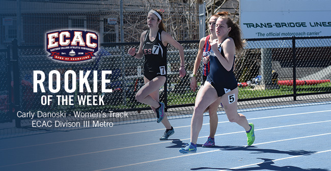 Danoski Selected as ECAC Division III Metro Women's Track & Field Rookie of the Week