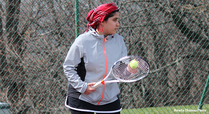 Women's Tennis Overpowers Bryn Athyn