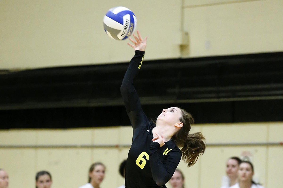 Women's Volleyball Picks up Second Straight Win