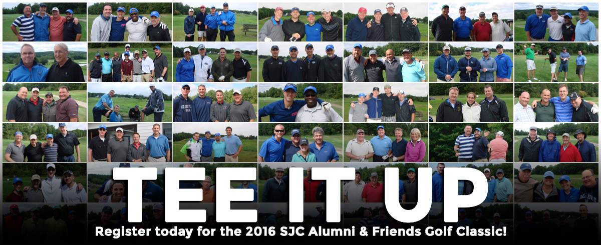 Register Online for the 2016 SJC Alumni & Friends Golf Classic!