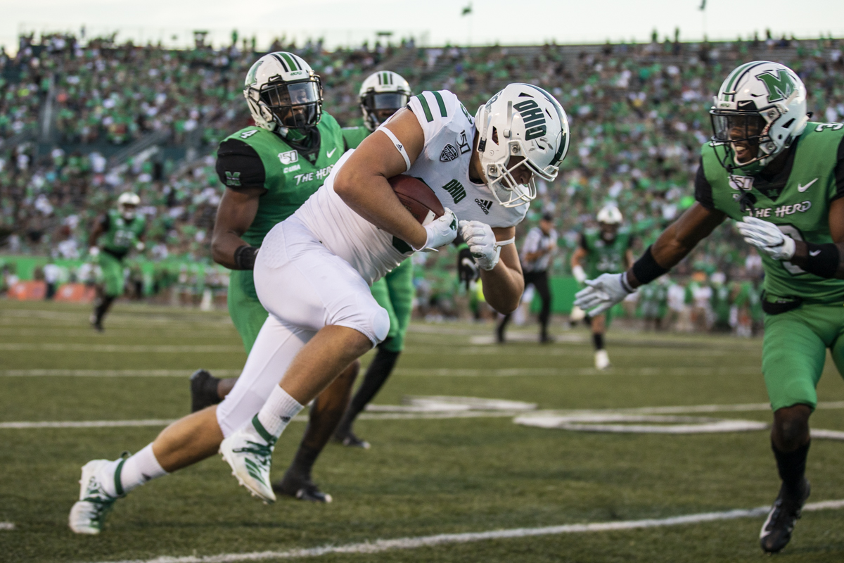 Ohio Football's Ryan Luehrman Named John Mackey Tight End of the Week Honorable Mention