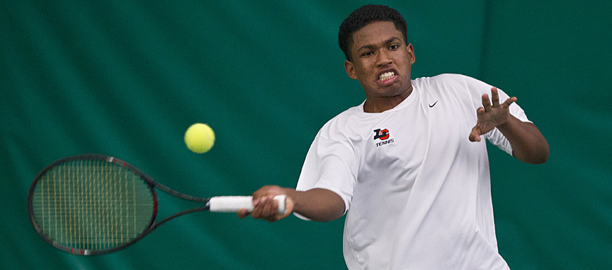 Men's Tennis Sweeps Singles in 7-2 Win Over Whitworth