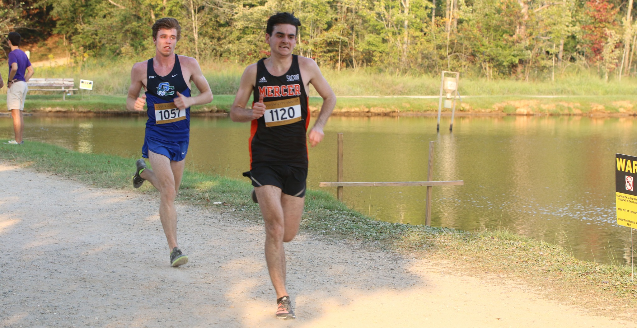 GC Men's Cross Country Races to Top-25 Finish in Charlotte