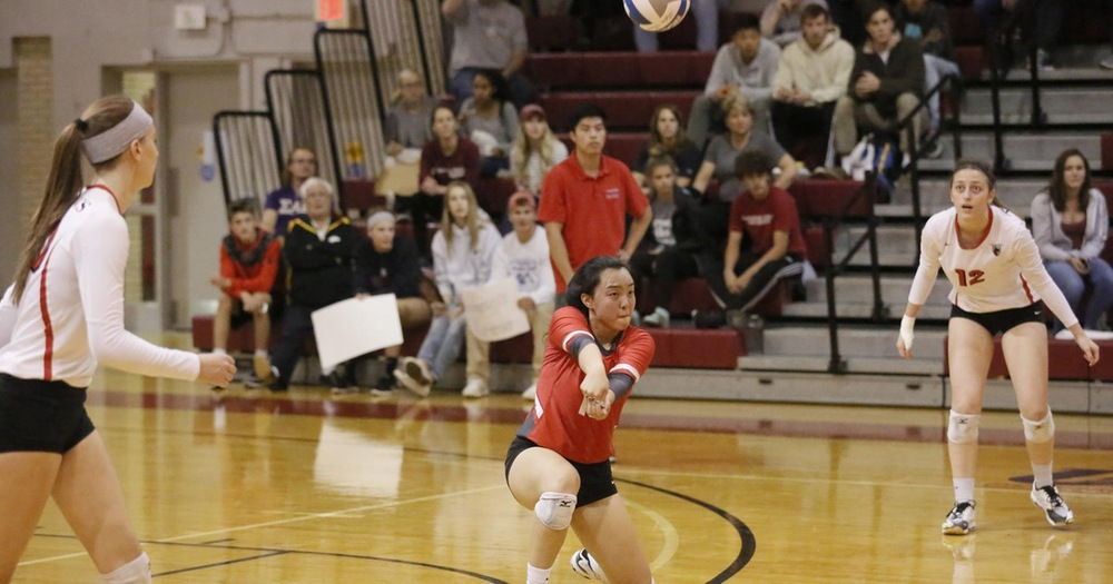 Volleyball Records 3-0 Road Win at Saint Vincent