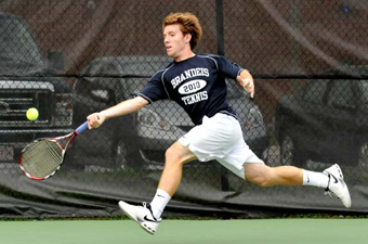 Men's tennis bounces back with 8-1 win over DII Eckerd
