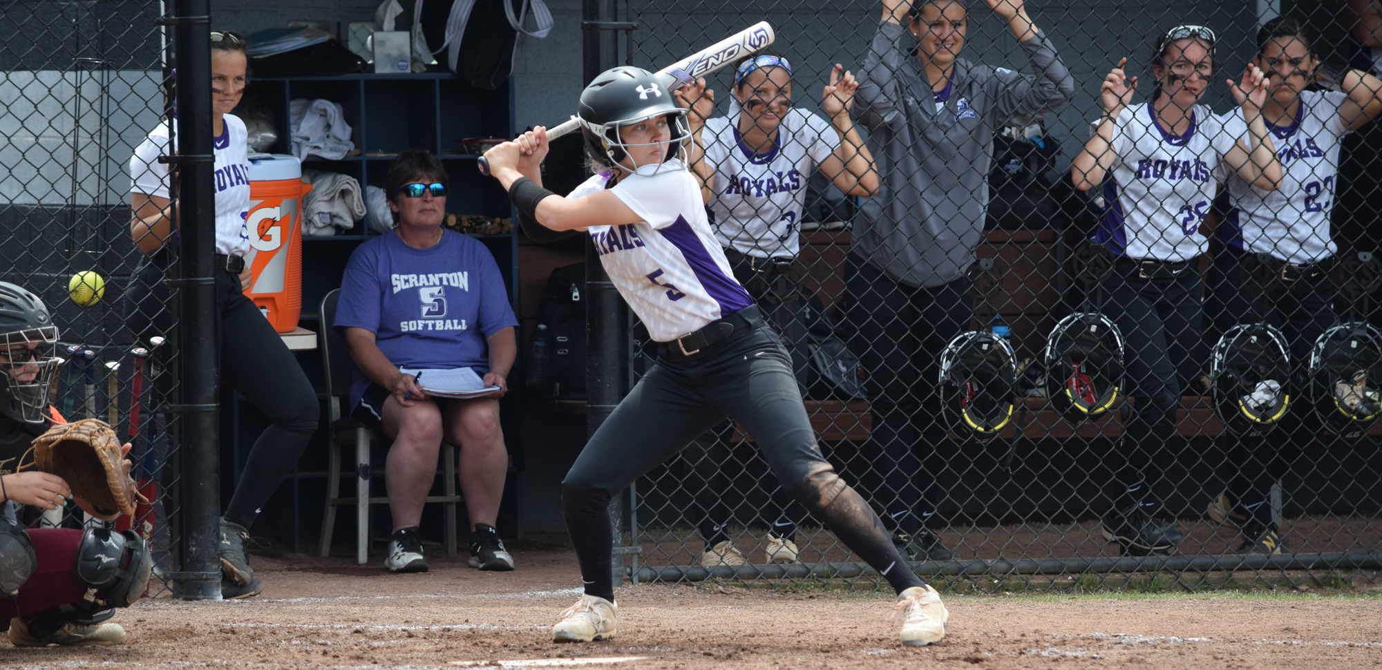Junior outfielder Megan Zinn has been named The University of Scranton Athlete of the Week.