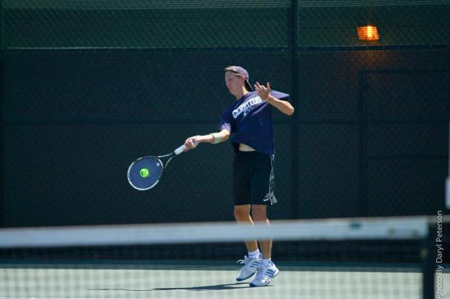 File Photo: Nathan Eshmade advanced to the semi-finals before a straight set loss ended his season