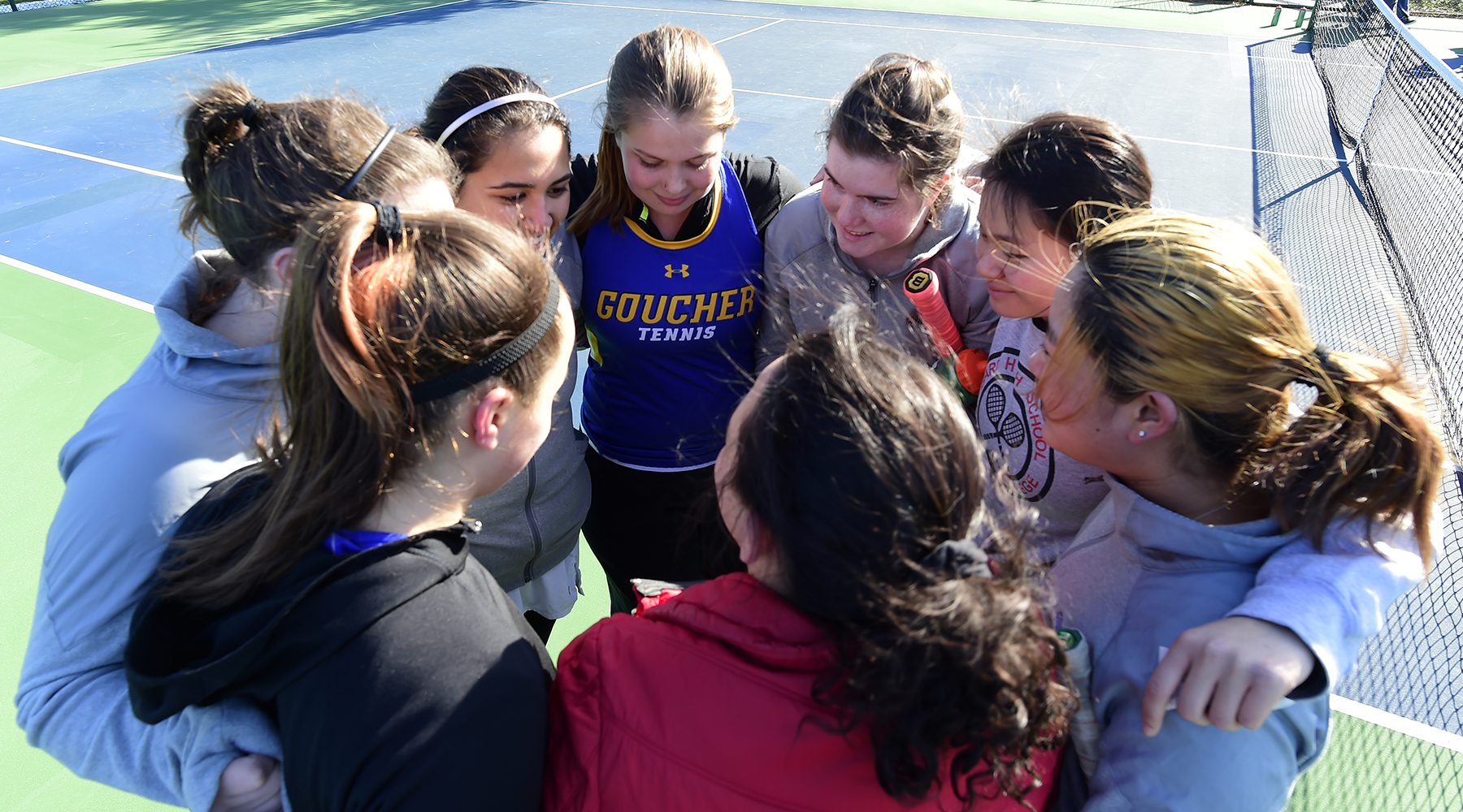 Women's Tennis Falls to Juniata in Landmark Conference Action, 7-2