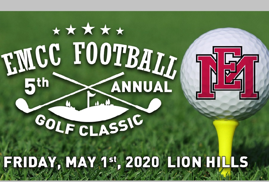 Fifth Annual EMCC Football Golf Classic slated for May 1 at Lion Hills in Columbus