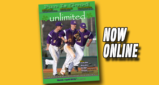 Latest edition of unlimited magazine focuses on fun