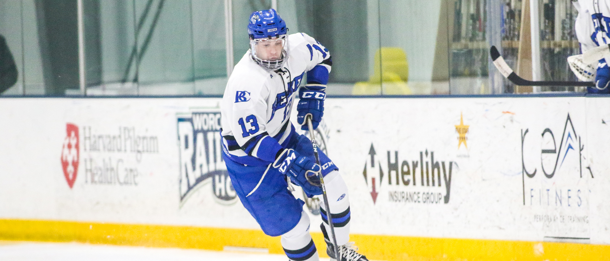 Men's Ice Hockey Records First CCC Win at Western New England