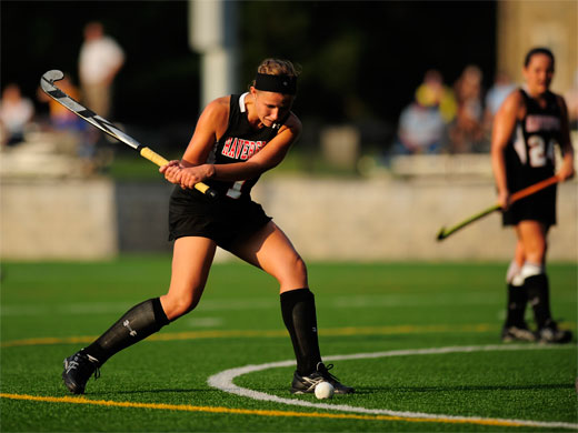 First-half advantage leads to field hockey win over Wesley