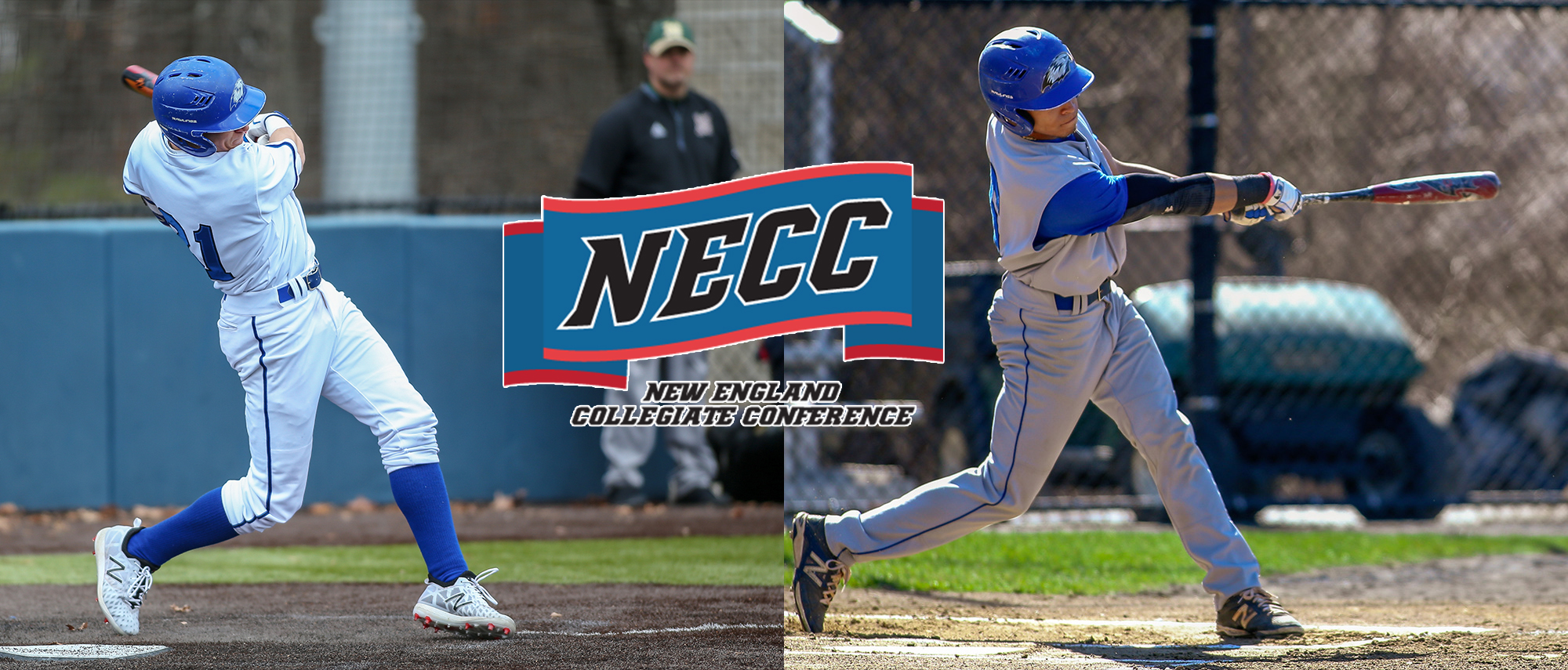 Testa and Negron All-Conference NECC