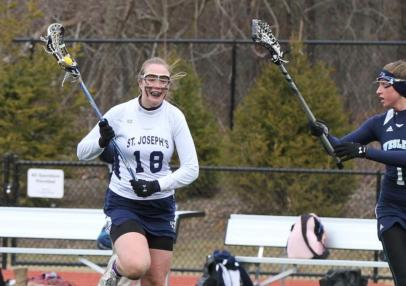 Lax Explodes for 17 Goals in Manhattanville Win