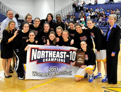 Freshman Forwards & Brennan Lead #17 Bentley to 15th NE-10 Tourney Title, 85-71 over Franklin Pierce