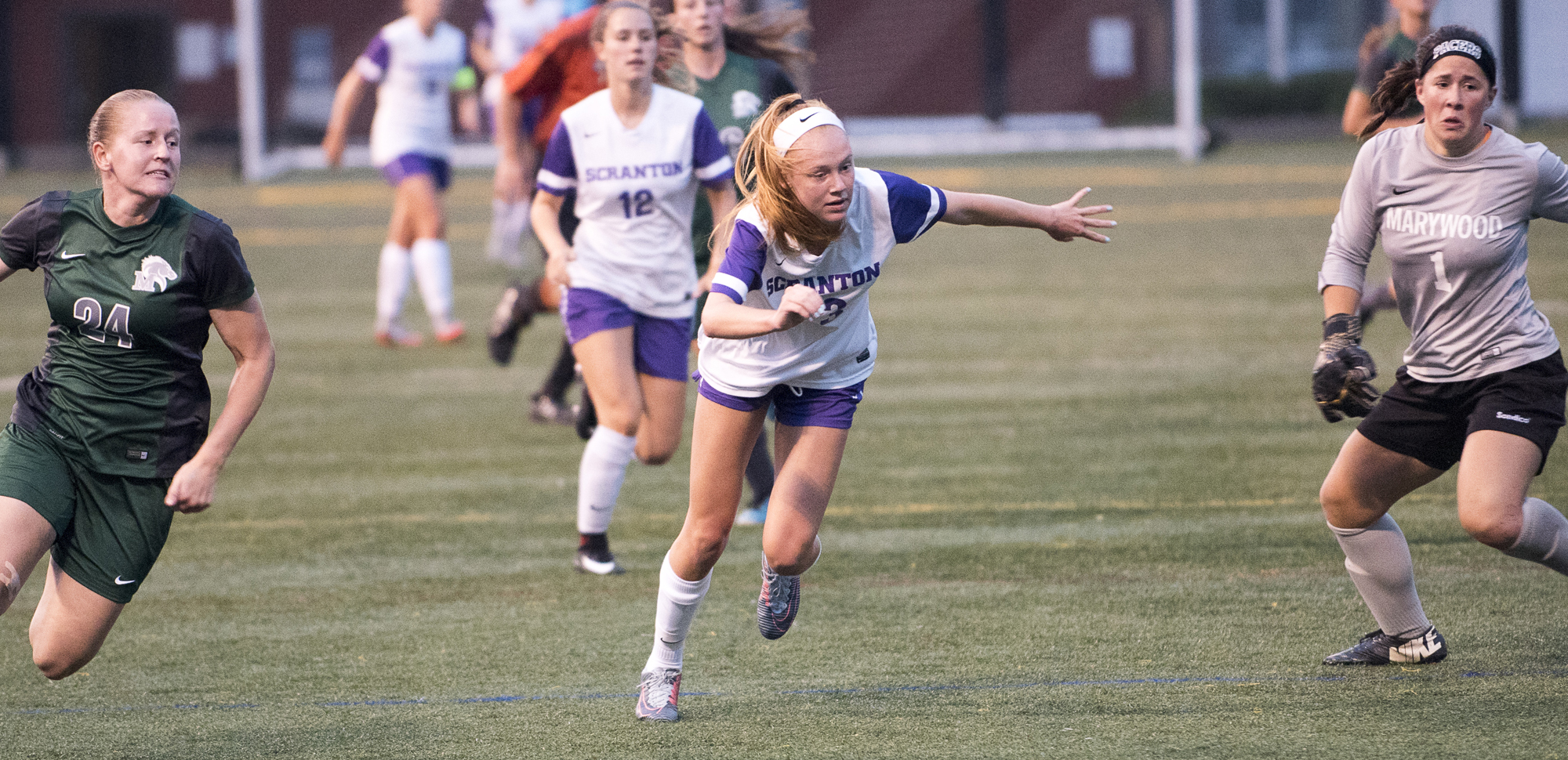 Freshman Mazie Stiles scored her first career goal in the Royals' 3-1 win at Elizabethtown on Saturday.
