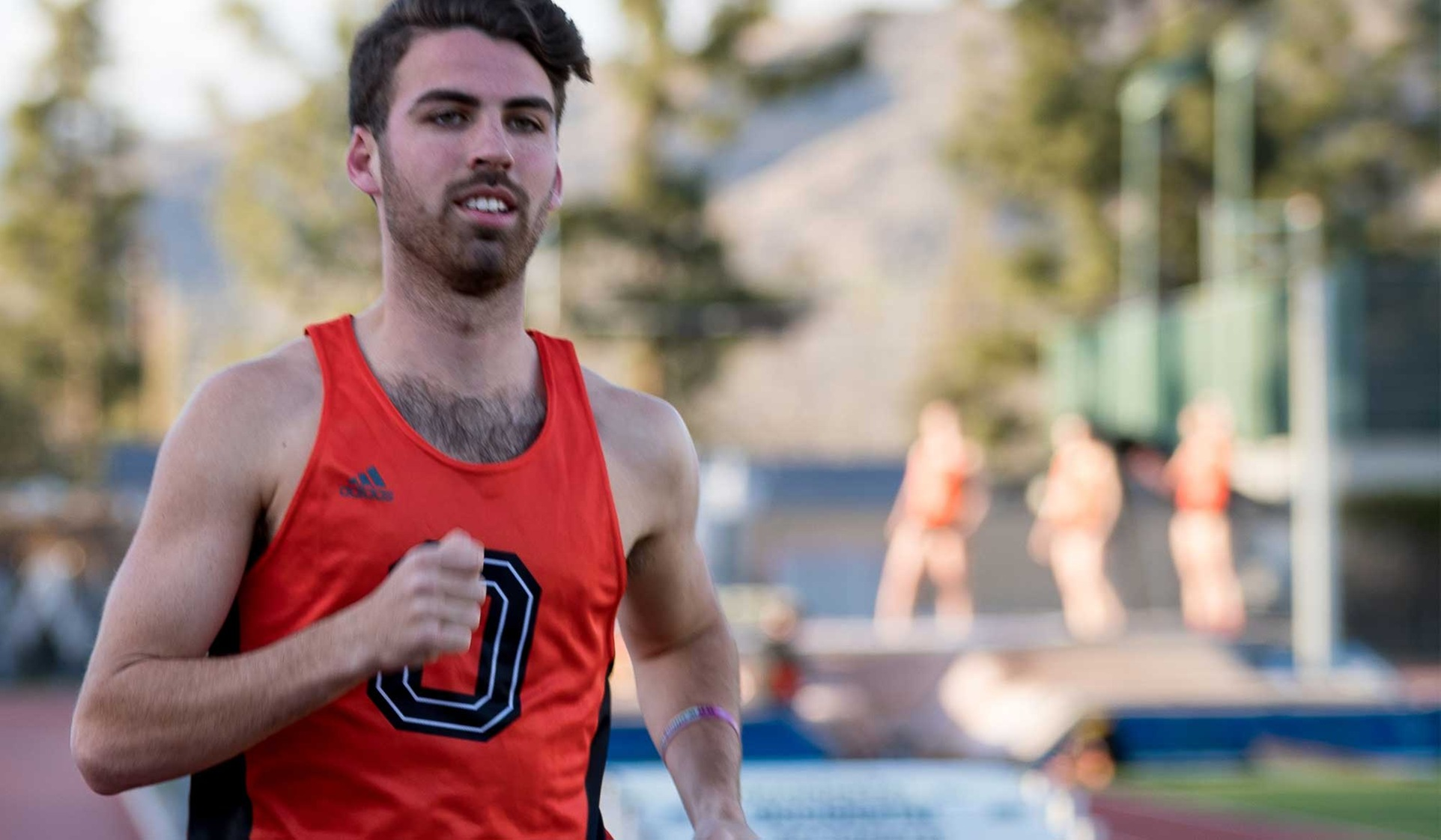 Barkan Runs Top SCIAC Time in 1,500