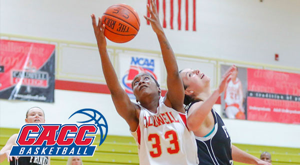 Caldwell's Anderson Named CACC Women's Basketball Player of the Year; Women's Basketball All-Conference Teams Announced